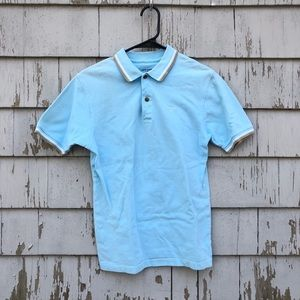 ⛳️Dockers Boys L Baby Blue Golf Shirt